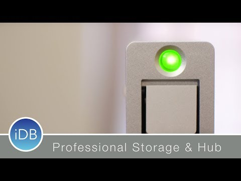 CalDigit AV Pro 2 is Professional Storage with an Integrated Hub, Swappable Drives & TB3