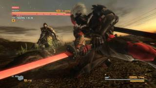 Metal Gear Rising: Revengeance - fight with Sam
