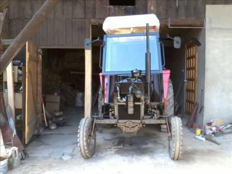 Remont Massey Ferguson 255 Lubrza 2011