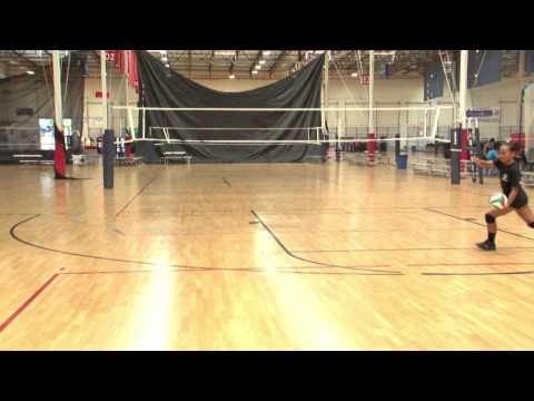 Slide Jump Serve Tips from USA Volleyball