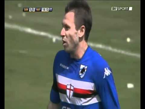 SAMPDORIA - NAPOLI 1-0 PAZZINI - SKY SPORT HD HIGHLIGHTS - 16/05/2010