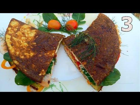 Быстрые и вкусные завтраки перед школой или универом(3 рецепта)