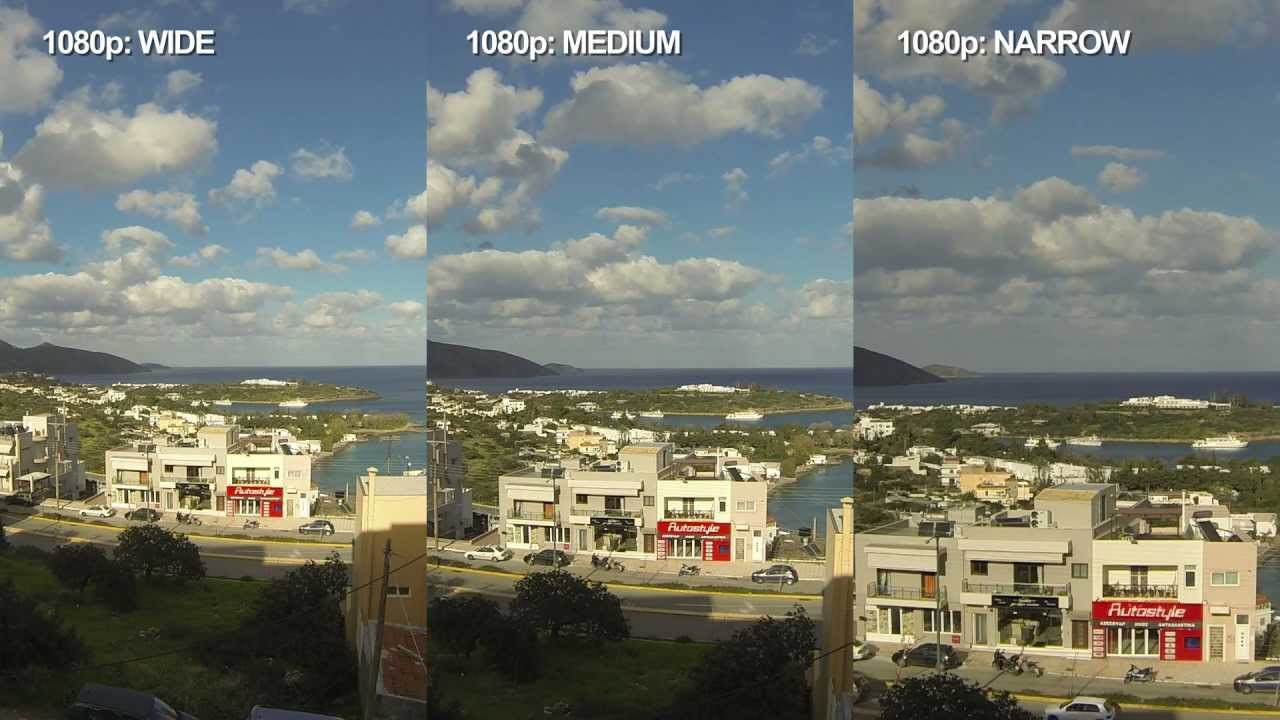 GoPro HERO3 - WIDE VS MEDIUM