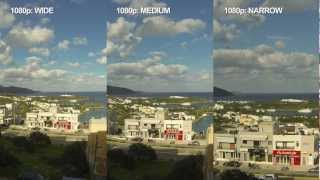GoPro HERO3 - WIDE VS MEDIUM VS NARROW FOV ( Quality Comparison )