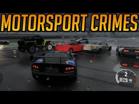 Forza 7 Crimes Against Motorsport