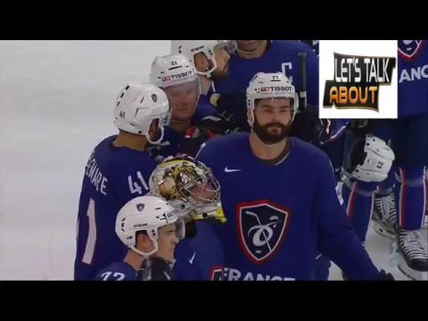 Le Beau geste de BELLEMARE  France vs Finlande IIHFWorlds 2017
