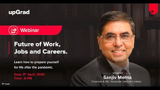 Future of Work, Jobs and Careers after COVID19 | Sanjiv Mehta, Chairman & MD, Hindustan Unilever