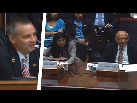 US Rep Has No Idea He's Speaking To Americans [Awkward]