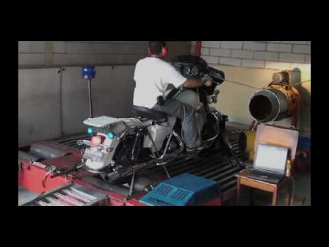 102.3 WHP - Dyno tuning Screamin' Eagle Super Tuner Pro on Harley Davidson Police.