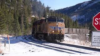3d Binaural Audio, Railroading in the Colorado Rockies TURN IT UP, Moffat Subdivision, Jan 1-2, 2019