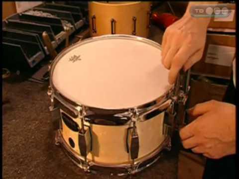 Из чего сделать барабан в домашних условиях