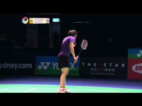 2014 The Star Australian Badminton Open-f-ws-saina Nehwal (ind) [6] Vs Carolina Marin (esp) video