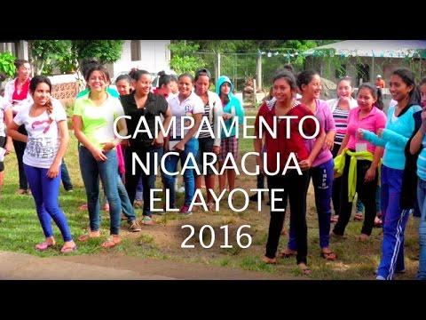 Campamento de chicas (Nicaragua)  2016