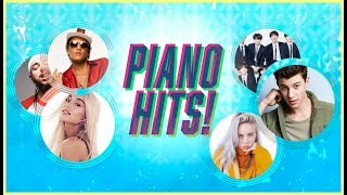 Piano Hits ? Pop Songs 2018 : 1 hour of Billboard hits - music for classroom ,study pop instrumental