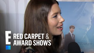 Jessica Biel Was 8 Months Pregnant While Filming New Movie | E! Live from the Red Carpet