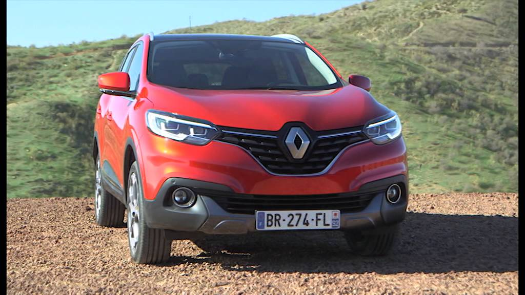 New Renault Kadjar Compact SUV - YouTube