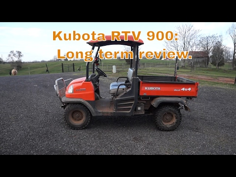 Kubota RTV 900 long term review.