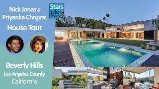 Nick Jonas and Priyanka Chopra's Beverly Hills House Tour | Los Angeles, California | $6.5 Million