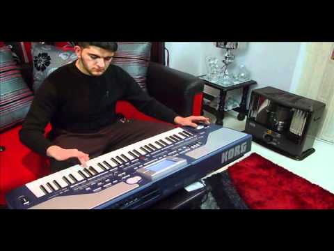Nicos - Secret Love.covered by iraqi player .. korg pa 800