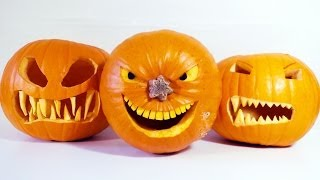 How to Carve Halloween Pumpkins