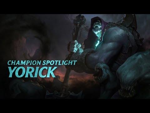 Yorick Champion Spotlight | Gameplay - League Of Legends