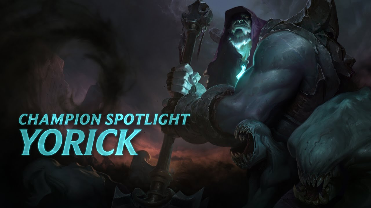 Yorick Champion Spotlight | Gameplay - League of Legends