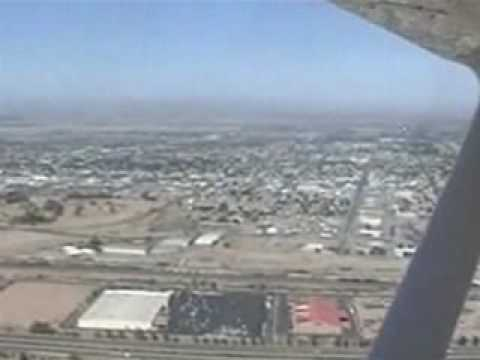 Flight to Yuma, AZ (KYUM)