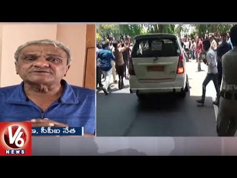 CPI Leader Narayana Reacts On Amit Shah's Convoy Attack Incident | Tirumala | V6 News