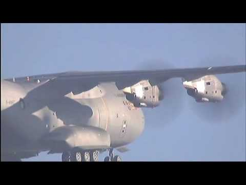 A400M First Flight-Airbus A400M First Flight at Seville Airport (Spain)