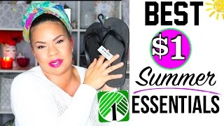 THINGS YOU SHOULD BUY FROM DOLLAR TREE | MUST HAVE $1 SUMMER ESSENTIALS! Sensational Finds