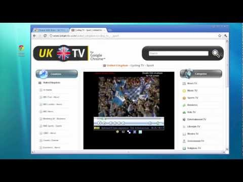 UK TV Online - Google Chrome App