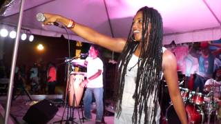 Jahfe Performing at Little Haiti Cultural Center in Miami - 2014