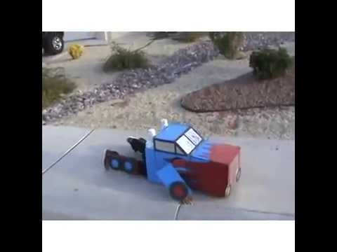 Low Budget Transformer Video Kid Transforming in his Suit