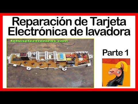 Reparaci n de tarjeta electr nica de lavadora samsung - Reparacion de placas electronicas ...