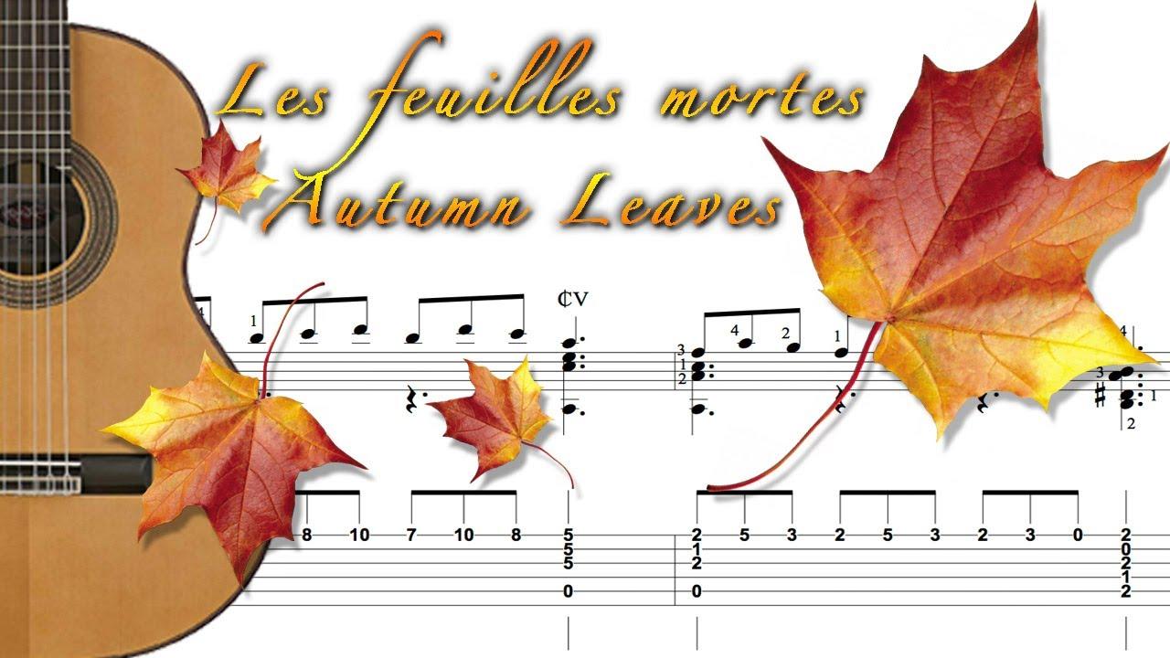 Les feuilles mortes autumn leaves youtube for Sac pour feuilles mortes