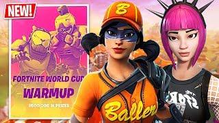 Fortnite WORLD CUP WARMUP $500,000 Tournament Semi-Finals!! (Fortnite Battle Royale)