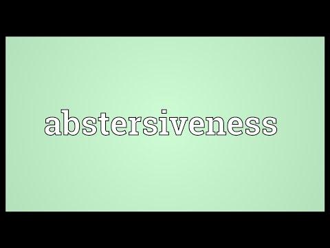 Header of abstersiveness