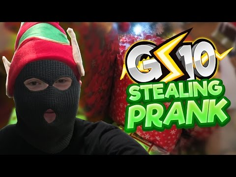 I Stole All The Christmas Presents (Prank)