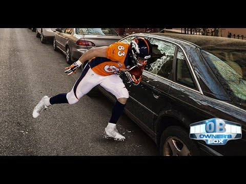 Wes Welker Preparing For Week 8 By Running Head First Into Parked Cars