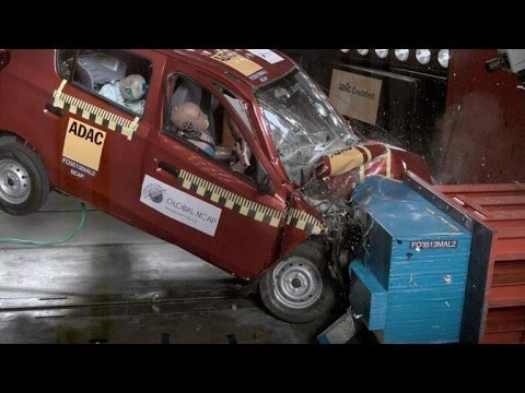 Tata Nano, other Indian cars fail crash tests