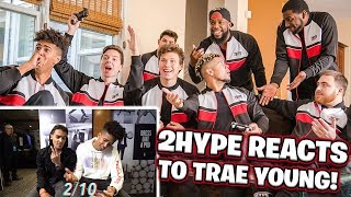2Hype Reacts to Trae Young! BANK Basketball Shooting Challenge