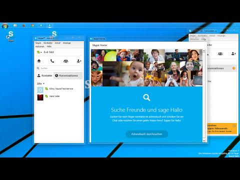 Skype: Mehrere Accounts gleichzeitig nutzen