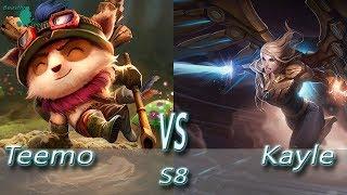League of Legends - Teemo vs Kayle - S8 Ranked Gameplay (Season 8)
