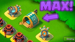 Boom Beach Diamonding MAX Statue Storage Level 1 to 5!