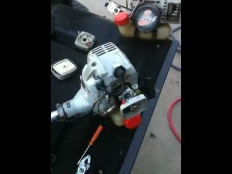 Weed Eater Repair >> ECHO GAS TRIMMER-WEED EATER REPAIR: echo trimmer repair - YouTube