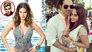 Sunny Leone To Shake A Leg With Justin Beiber | Varun  I Am Proud Of The Special Woman In My Life'