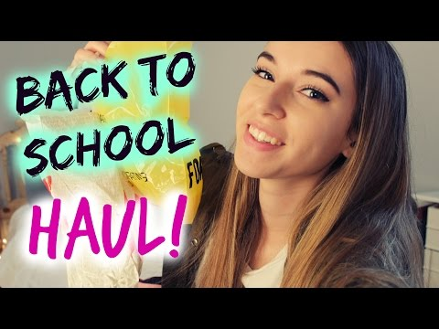 Back To School Haul 2014: Forever21, H&M, and more!