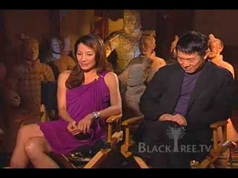Monday Night Conversation - Jet Li & Michelle Yeoh (Mummy 3) Video