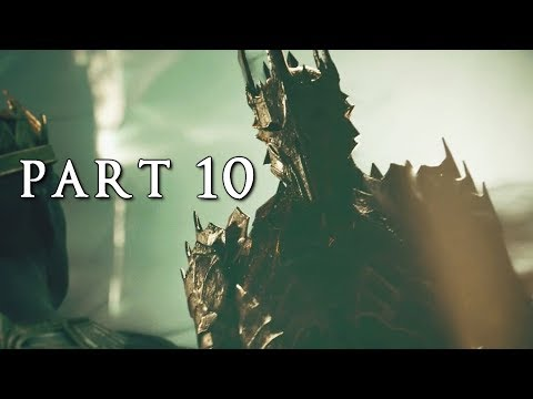 SHADOW OF WAR Walkthrough Gameplay Part 6 - Nazgul (Middle-earth)