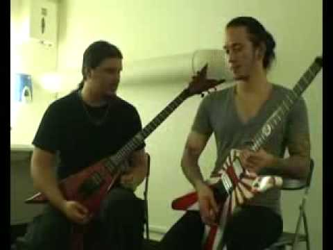 Trivium - Matt&Corey lesson - Insurrection
